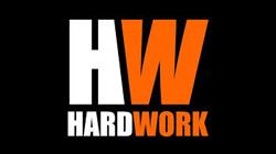 logo hard work